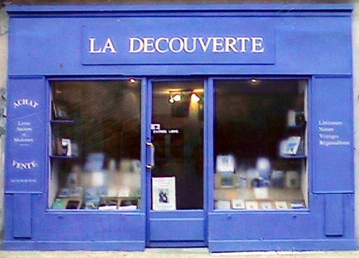 Cuisery, Librairie La decouverte