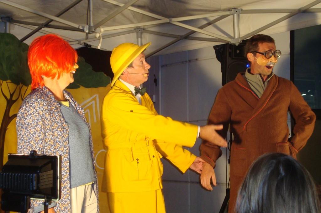 Philibert le ventriloque a mis à contribution le public.